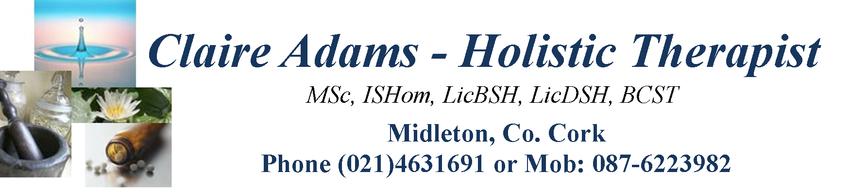 Adams Holistic Healing Cork